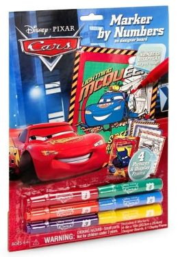 Disney/Pixar Cars Marker by Numbers