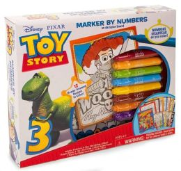 Toy Story Marker By Number Boxed Kit