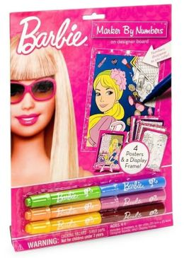 Barbie Marker by Numbers
