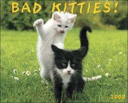 2008 Bad Kitties Wall Calendar