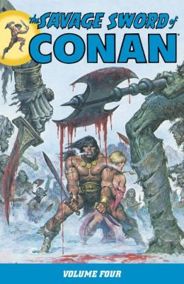 The Savage Sword of Conan, Volume 4
