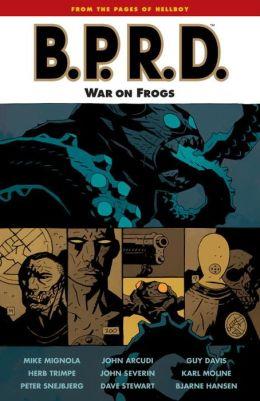 B.P.R.D., Volume 12: War on Frogs