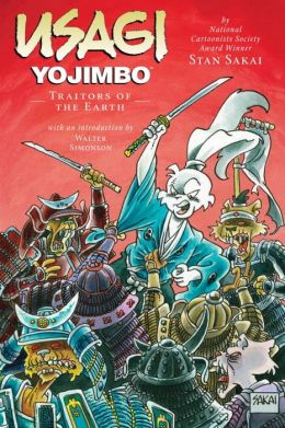 Usagi Yojimbo, Volume 26: Traitors of the Earth
