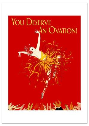Fire Dancer Congratulations Greeting Card