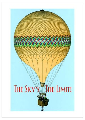 Hot Air Balloon Graduation Greeting Card