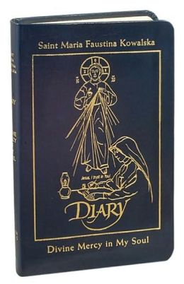 Diary of Saint Maria Faustina Kowalska - in Navy Blue Leather: Divine Mercy in My Soul