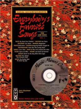 Everybody's Favorite Songs - Low Voice, Volume 1