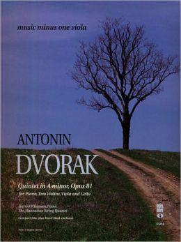 Dvorak Quintet In A Major, Op. 81
