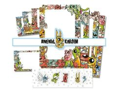 Joe Ledbetter Aminal Kingdom Stationery Set