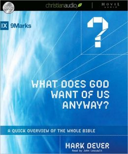 What Does God Want of Us Anyway?: A Quick Overview of the Whole Bible