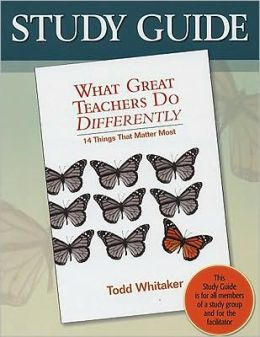 Study Guide-What Great Teachers Do Differently