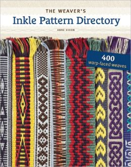 The Weaver's Inkle Pattern Directory: 400 Warp-Faced Weaves (PagePerfect NOOK Book)