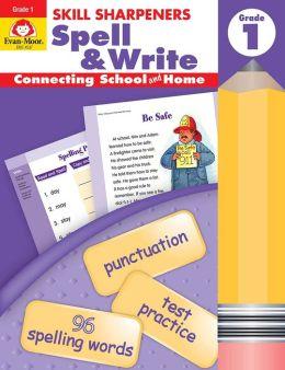 Skill Sharpeners Spell & Write, Grade 1