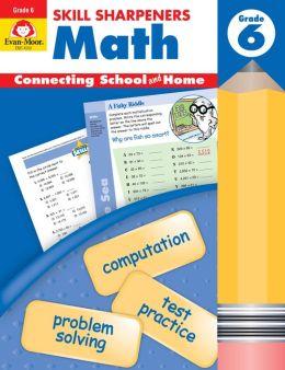 Skill Sharpeners Math, Grade 6