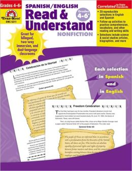 Spanish/english Read & Understand Nonfiction, Grades 4-6
