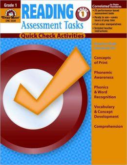 Reading Assessment Tasks, Grade 1