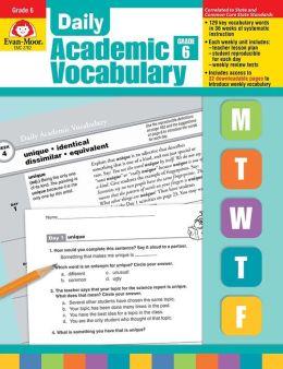 Daily Academic Vocabulary, Grade 6+