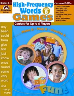High-Frequency Words: Center Games, Level B