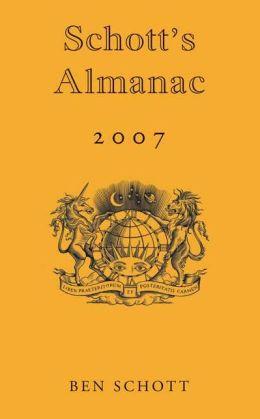 2007 Schott's Almanac