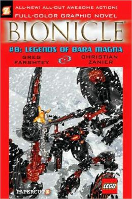 Legends of Bara Magna (Bionicle Graphic Novels Series #8)