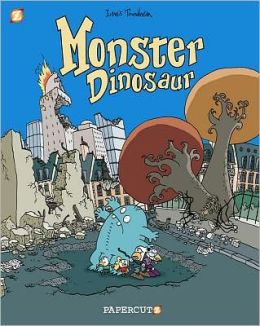 Monster Graphic Novels: Monster Dinosaur