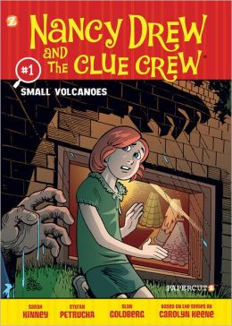 Small Volcanoes (Nancy Drew and the Clue Crew Graphic Novel Series #1)