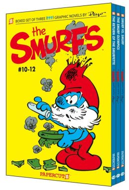 The Smurfs Graphic Novels Boxed Set: Vol. #10-12