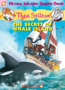 The Secret of Whale Island (Thea Stilton Graphic Novels Series #1)