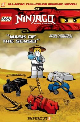 Mask of the Sensei (LEGO Ninjago Series #2) (NOOK Comics with Zoom View)