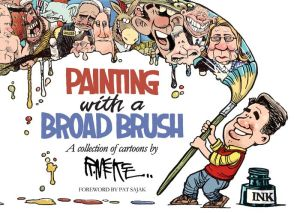 Painting with a Broad Brush: A collection of Cartoons by Rick McKee