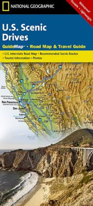 U. S. Scenic Drives GuideMap