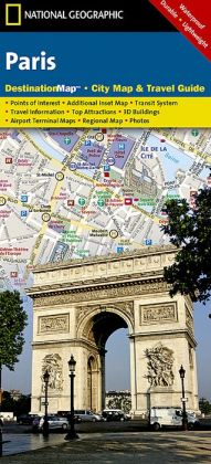 Paris Destination Map