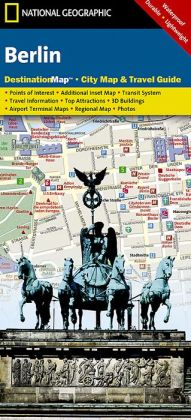 National Geographic Destination City Map Berlin: Germany