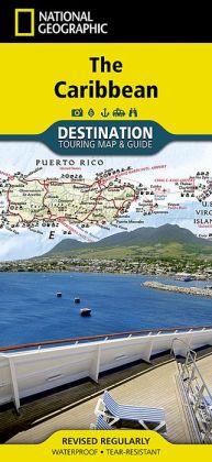 The Caribbean Destination Guide Map