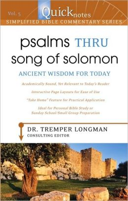 Quicknotes Simplified Bible Commentary Vol. 5: Psalms thru Song of Solomon