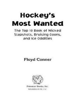 Hockey's Most Wanted?: The Top 10 Book of Wicked Slapshots, Bruising Goons and Ice Oddities