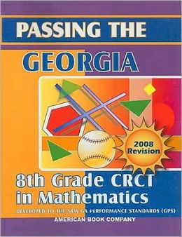 Passing the Georgia 8th Grade CRCT in Mathematics