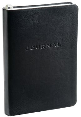 Black Cervo Bound Lined Journal (5
