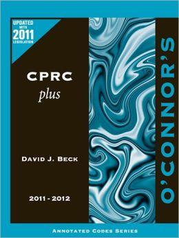 O'Connor's CPRC Plus