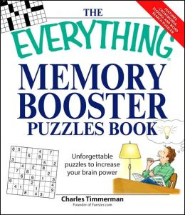 The Everything Memory Booster Puzzles Book: Fun and challenging puzzles to increase your brain power
