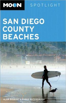Moon Spotlight San Diego County Beaches