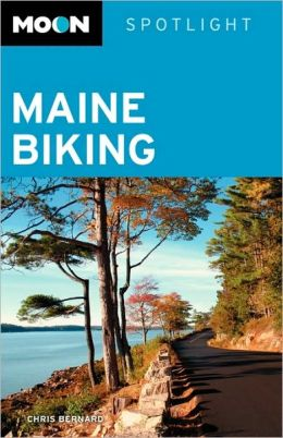 Moon Spotlight Maine Biking