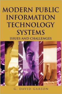 Modern Public Information Technology Systems