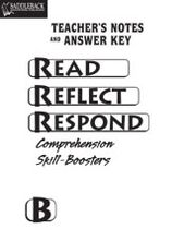 Book B Answer Key- Read, Reflect, Respond