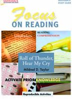 Roll of Thunder, Hear my Cry- Focus on Reading