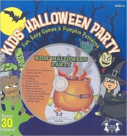 Kids' Halloween Party: Fun, Easy Games & Pumpkin Patterns [With Sticker(s) and CD (Audio) and 10 Pumpkin Carving Patterns]