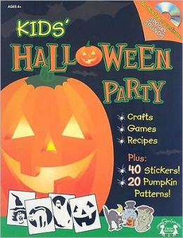 Kids' Halloween Party [With Sticker(s) and CD (Audio) and 20 Pumpkin Carving Patterns]