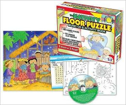 The Nativity Giant Floor Puzzle [With CD (Audio) and Activity Guide]