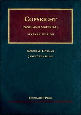 Copyright:Cases and Materials