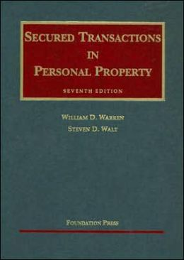 Secured Transactions in Personal Property